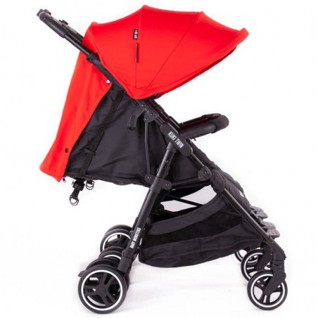Silla De Paseo Gemelar Baby Monster Kuki Twin Con Pack Color