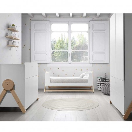 Cuna Micuna Swing Blanco de 70 x 140 cm