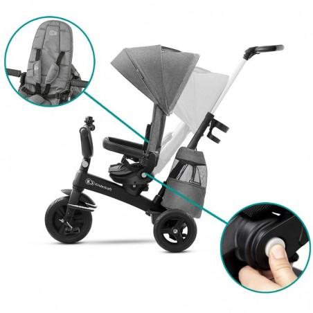 Triciclo Reclinable Evolutivo EasyTwist de Kinderkraft